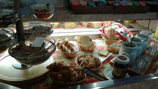 Time Hotel: Partie choix à volonté petit déjeuner
