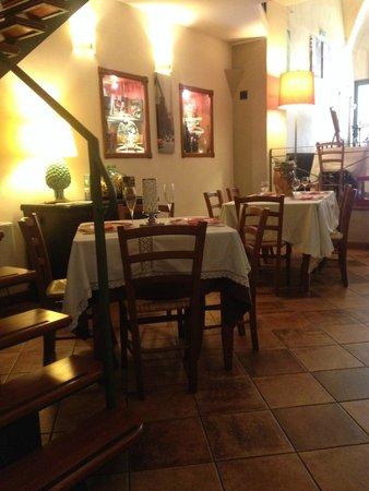 Cucina Garibaldi: sala