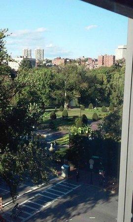 Taj Boston: Vista sul parco