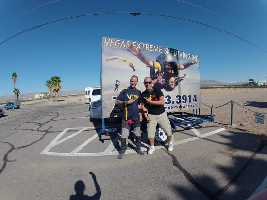 Vegas Extreme Skydiving : thank you jeff for this awesome moment!!!