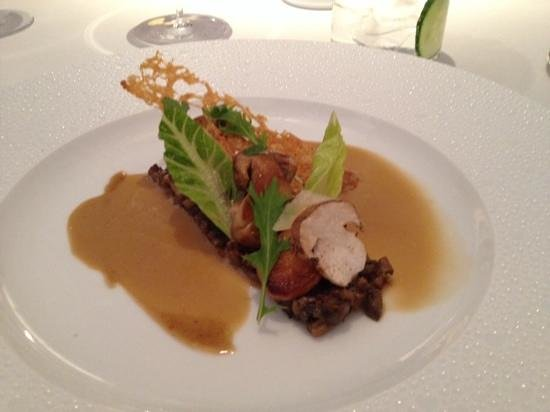 Restaurant Gordon Ramsay: ceps on toast