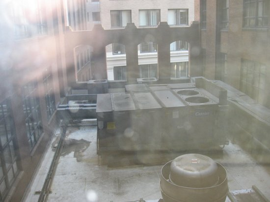 Hilton Boston Downtown / Faneuil Hall: View from the window :(