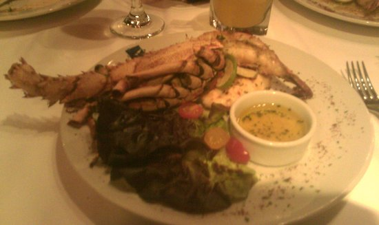 Texas de Brazil: Lobster dish