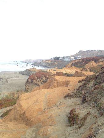 Dillon Beach, Kalifornia: Foggy morning