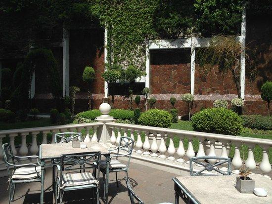 Emperador Hotel Buenos Aires: Jardim Interno