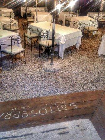 Sottosopra Restaurant: Terrazza