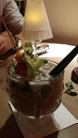 Cafe Glockenspiel: One of many fantastic cocktails