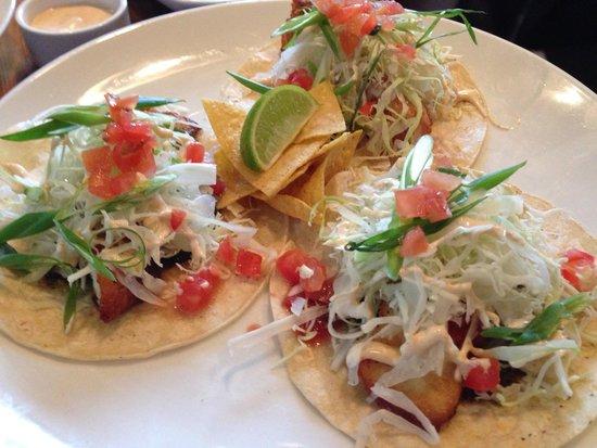 Village Tap House: Fish Tacos