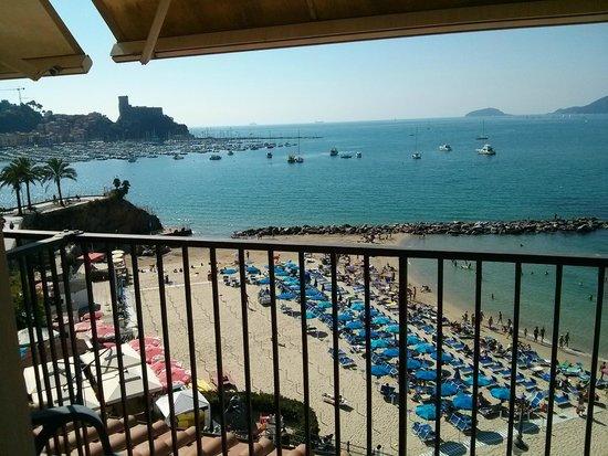 Hotel Venere Azzurra: vista spettacolare dalla camera