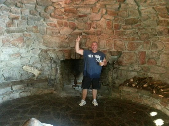 Love the Fireplace Picture of Stone Manor Restaurant at Blue