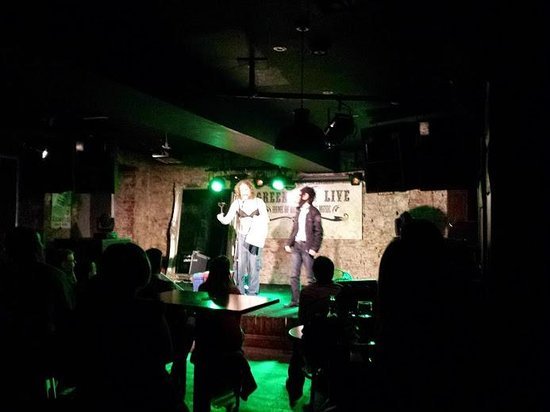 Letterkenny, Irland: Audience participation time with George Firehorse