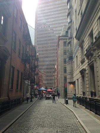 Stone Street Historic District: street view
