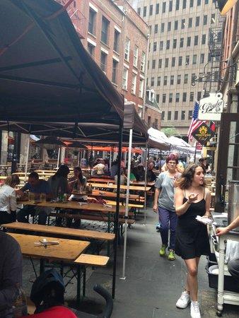 Stone Street Historic District : dining