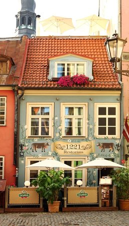 """1221"" Restaurant in Old Riga"