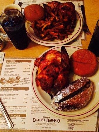 Chalet Bar-B-Q: Half Chicken