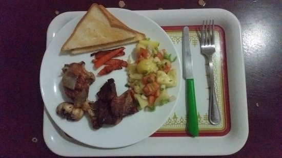 Colombo Airport Hostel Negombo Beach: Dinner