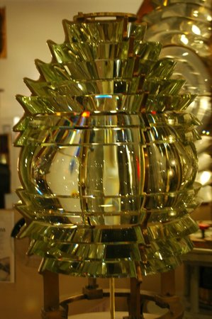 Maine Lighthouse Museum: An impressive Fresnel lens