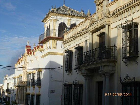 Hotel Palacio Marques de la Gomera: Fachada del hotel