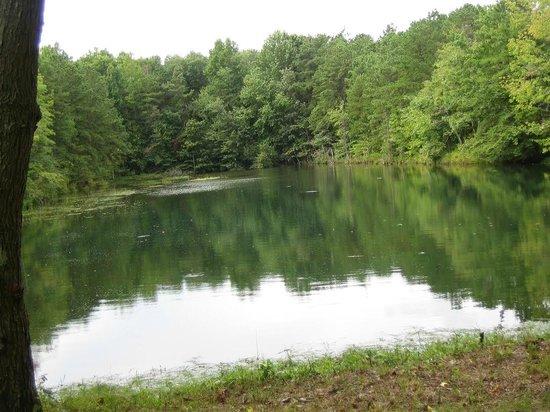Crystal Springs Wilderness Lodges & RV Resort: Crystal Lake