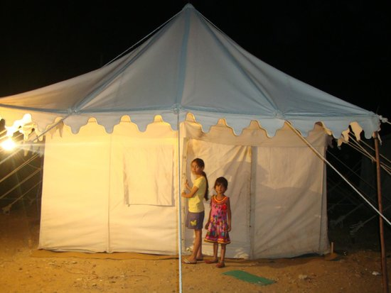 Malra Heritage Camp : Decorated tent