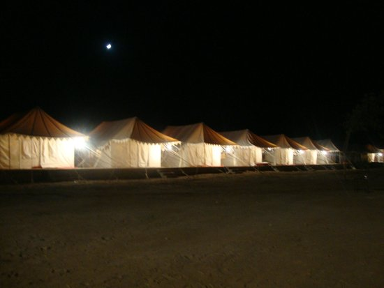Malra Heritage Camp : series of tents