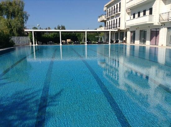 Hotel President Solin : The very fine outdoor pool