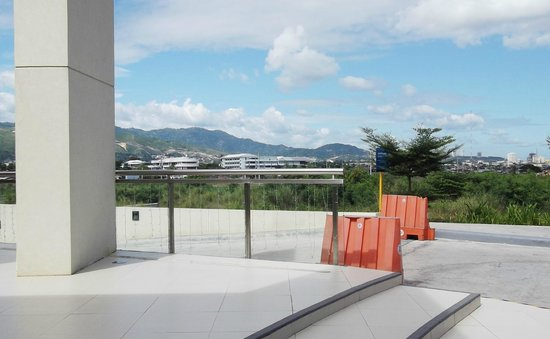 Chapel of San Pedro Calungsod: Surrounding areas of the chapel