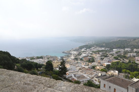 Castro Castle : panorama dal castello