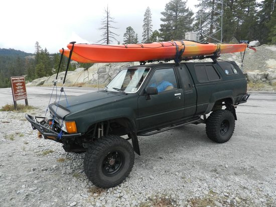 Tamarack Lodge At Bear Valley : Getting ready to Kayak Spicer