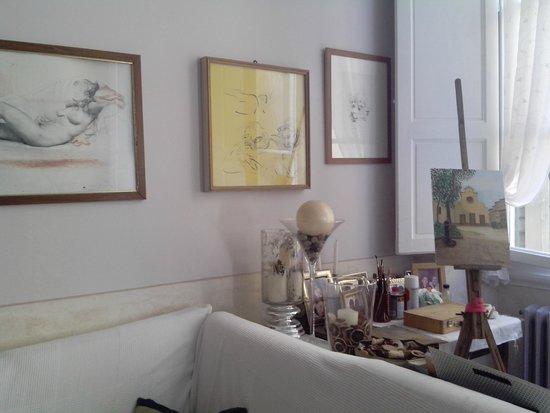 Badia Fiorentina Bed and Breakfast: Where Bruno paints