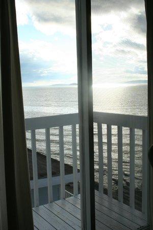 Auberge Sur Mer : Balcon de rêve