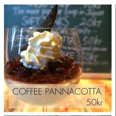Sushi KITA: Coffee pannacotta