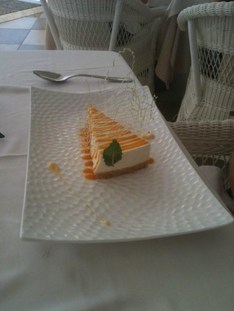 restaurante Amura: Cheesecake