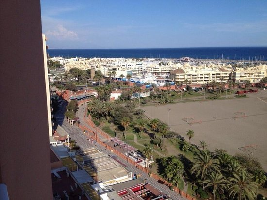 Hotel Best Triton: View from balcony
