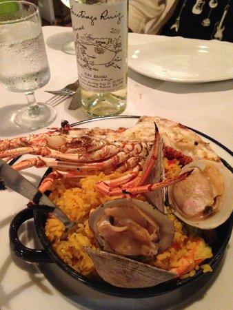 Bili's Seafood Paella
