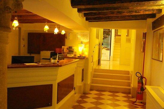 Hotel Giudecca Venezia: Reception