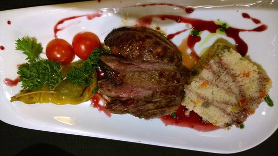Melnie Muki: Roasted duck with couscous