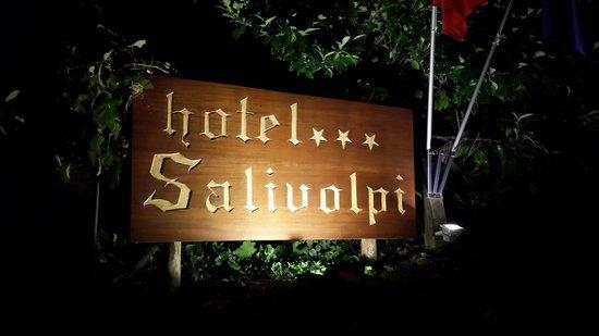 Hotel Colle Etrusco Salivolpi: Insegna