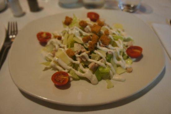 Centro de Granada: ensalada fresca