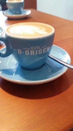 D•Origen Coffee Roasters: Rico cortado (1.50)