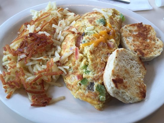 College Park Diner: Humpty Dumpty omelette