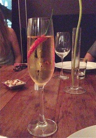 Nang Gin Kui - Bangkok Private Dining: sparkling wine