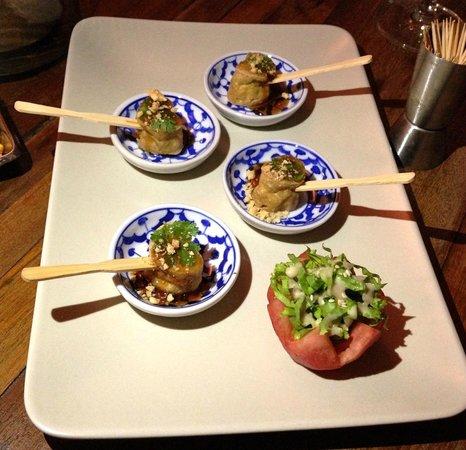 Nang Gin Kui - Bangkok Private Dining : small bites