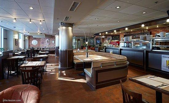 Hotel Y Montreal: Restaurant café imagination