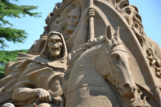 """Sand Nativity : Название композиции """"Hell"""""""