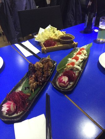 Zaibatsu : Just some of the appetisers