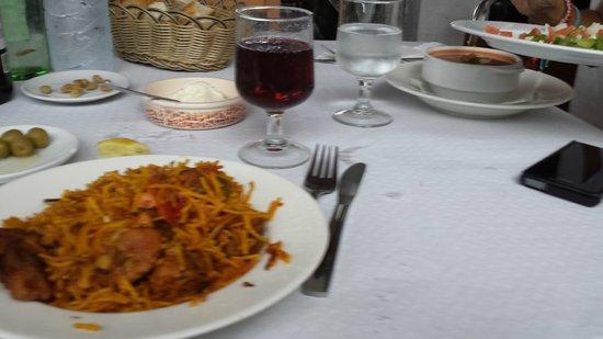 Moli d'es Raco: Los primeros platos