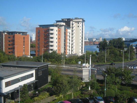 Future Inn Cardiff Bay: Vistas desde la habitación