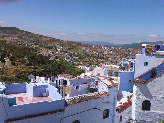Dar Onsar : Vue de la terrasse