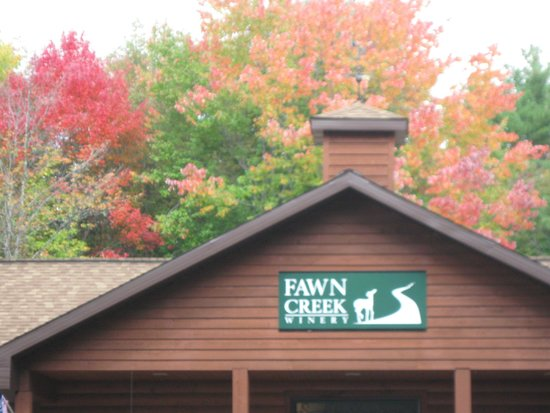Fawn Creek Winery: The Main Building